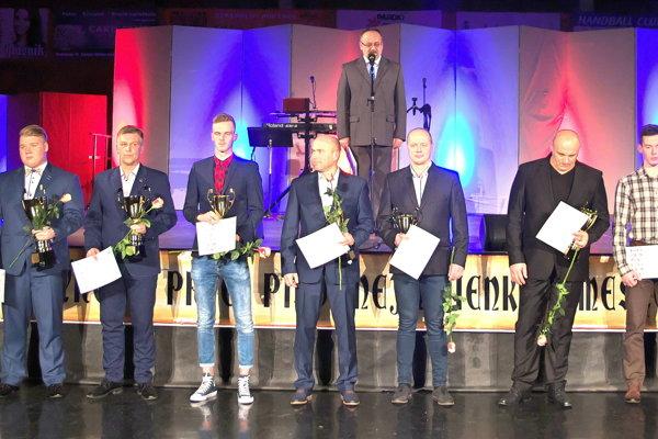 Ocenení športovci roka 2017.