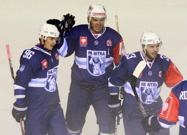 Hokejisti Nitry účinkovali prvýkrát v Lige majstrov.