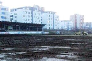 Na Čermáni budú počas jari prerábať dve plochy - hlavná aj tréningová.