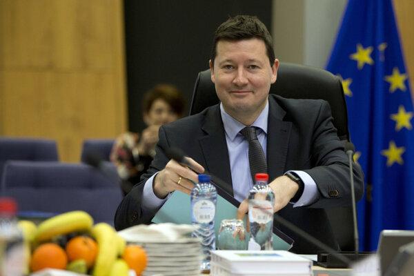 Martin Selmayr, jeden z najplyvnejších ľudí bruselských kuloárov.
