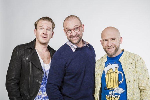 Stanislav Majer, Tomáš Maštalír a Martin Nahálka.