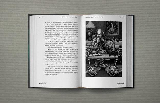 Publikácia Sherlock Holmes (Arthur Conan Doyle) - Podpis štyroch
