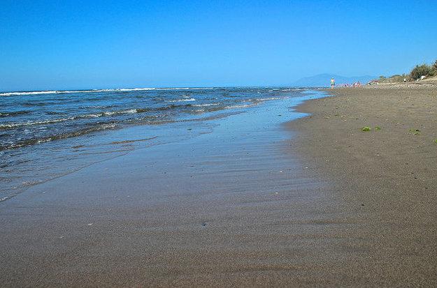 Marbella, pláž Cabopino