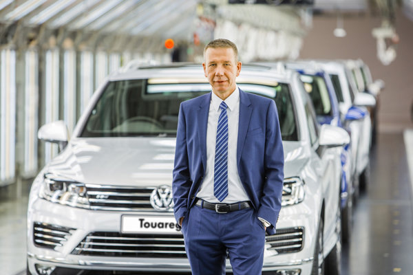 Nový šéf Volkswagen Slovakia Ralf Sacht.