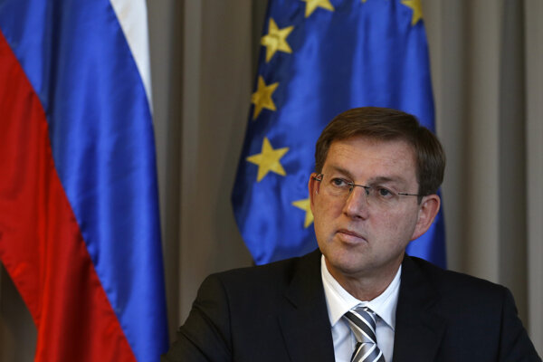 Slovinský expremiér Miro Cerar.