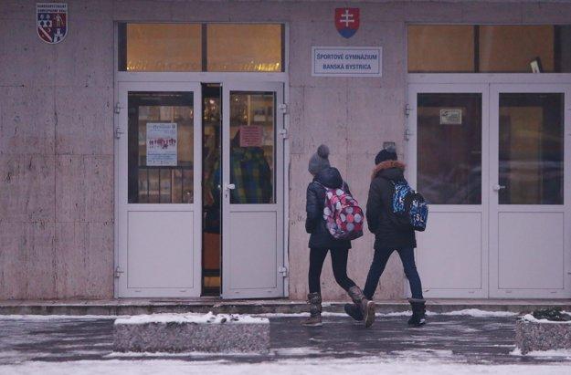Športové gymnázium v Banskej Bystrici sa do štrajku nezapojilo.