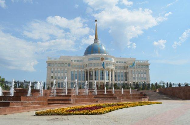 Prezidentský palác v Astane