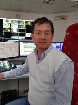 Peter Pipiš, vedúci dispečingu DPB.