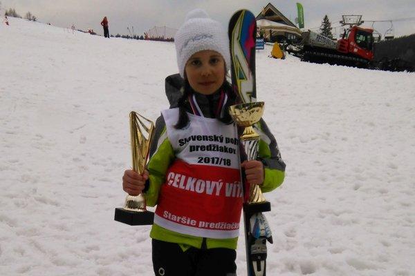Veronika Šrobová priniesla do rodiny ďalší Slovenský pohár.