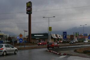 V Košútoch.