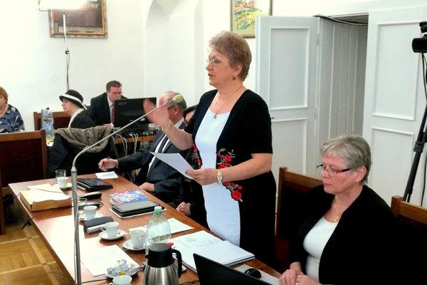 Poslankyňa Eva Kučová sa neospravedlní. Za svojimi slovami si verejne stojí. (Zdroj: MH)