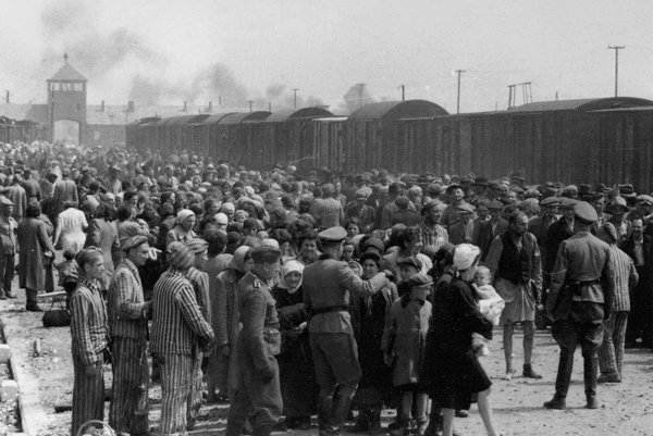 Koncentračný tábor Birkenau.