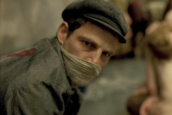 Géza Röhrig ako Saul v maďarskej dráme Saulov syn.