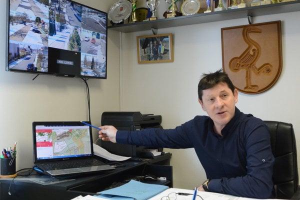 Alexander Kalán, starosta obce Beša v okrese Michalovce.