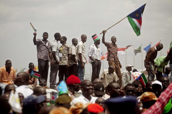 Oslavy nezávislosti v Južnom Sudáne.