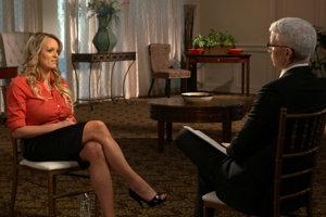 Stormy Danielsová prvýkrát verejne hovorila.