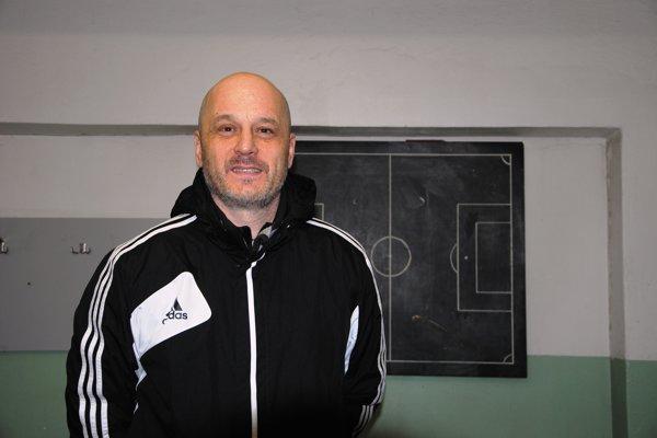 Peter Holec, tréner TJ Družstevníku Bitarová.