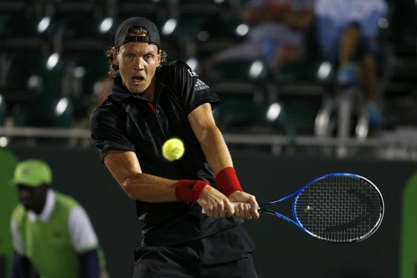 Tomáš Berdych na turnaji v Miami skončil.