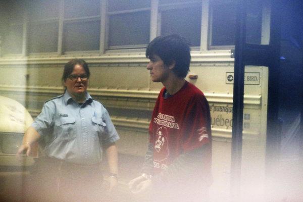 Bissonnette je obvinený zo šesťnásobnej vraždy.