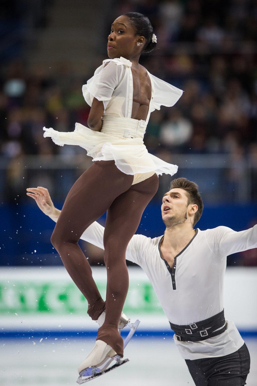 Vanessa Jamesová a Morgan Cipres z Francúzska.