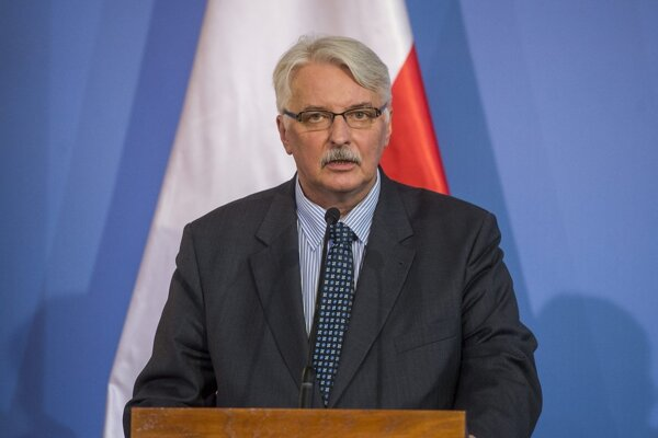 Poľský minister zahraničných vecí Witold Waszczykowski.