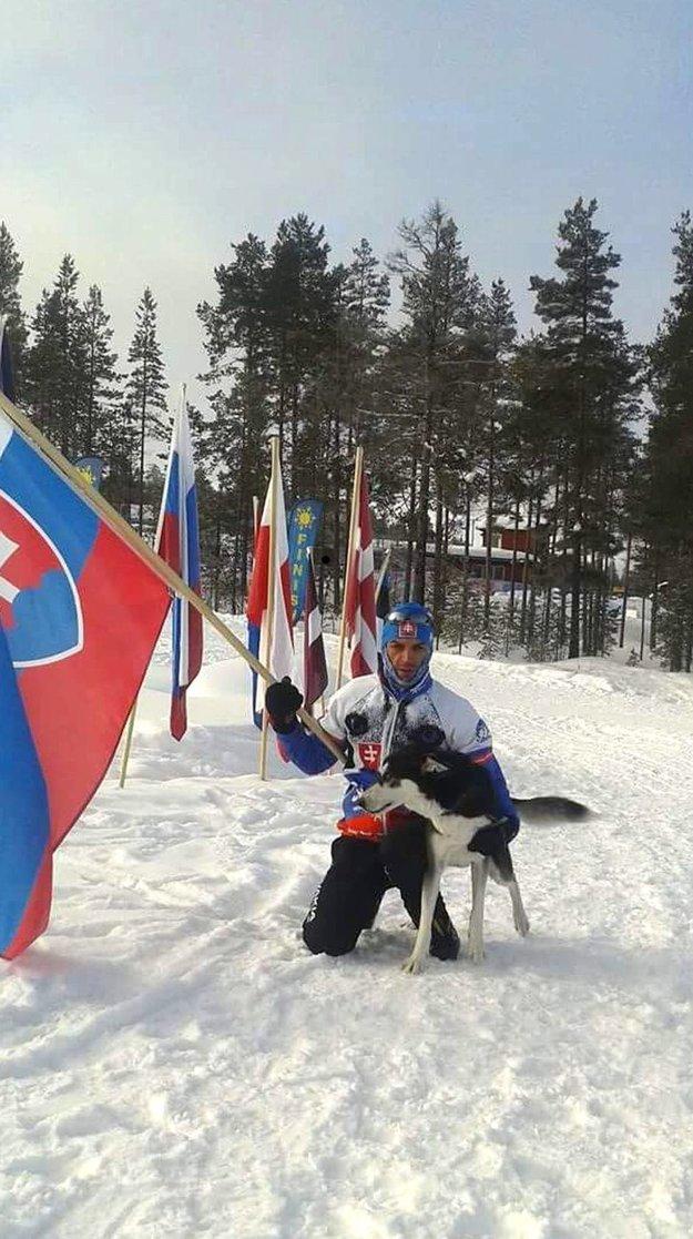 Ján Néger so svojím šampiónom Edym. Konkurencii ukázali chrbát.