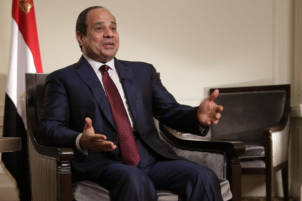Egyptský prezident Abdel Fattah el-Sísí.