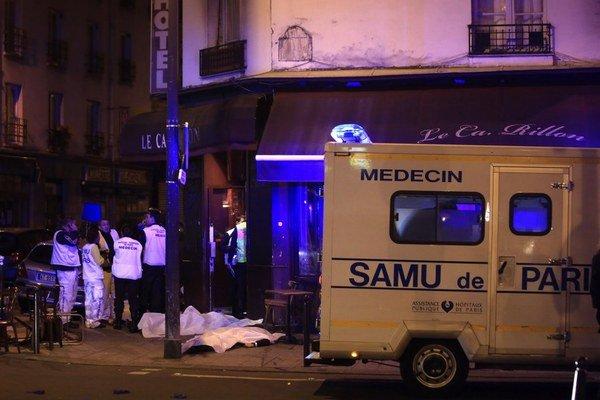 Novembrové teroristické útoky v Paríži.