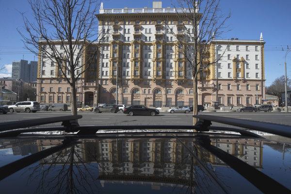 Ambasáda USA v Moskve.