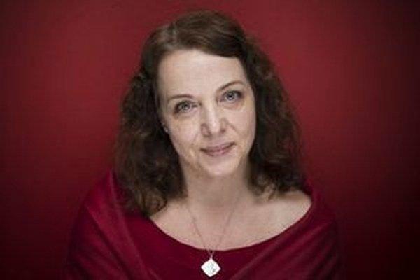 Šéfredaktorka denníka SME - Beata Balogová.