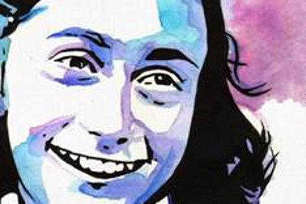 Anna Franková, ktorej denník sa stal jedným zo symbolov prenasledovania Židov počas 2. svetovej vojny.