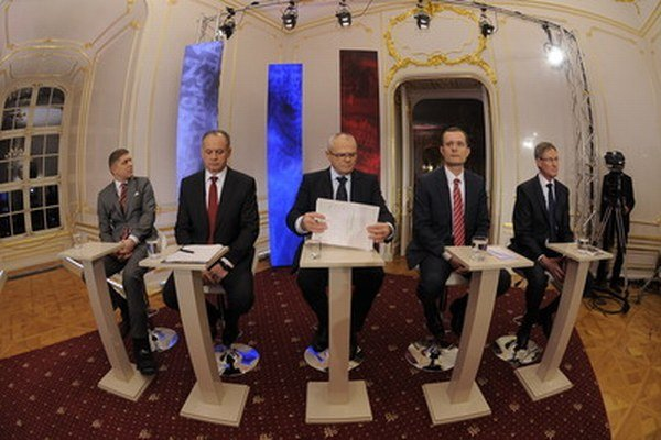 Jedna z prezidentských debát.