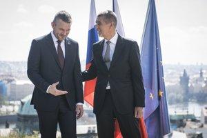 Slovenský premiér Peter Pellegrini na prvej návšteve Českej republiky.