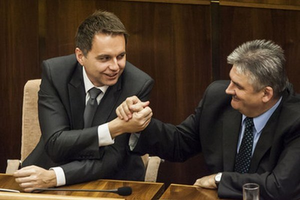 Ministri Kažimír a Richter.