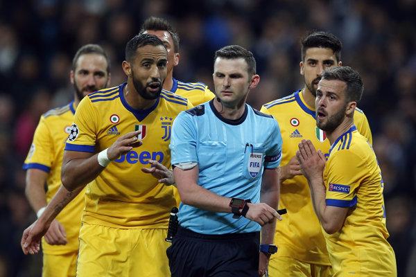 Hráči Juventusu vypadli z Ligy majstrov.
