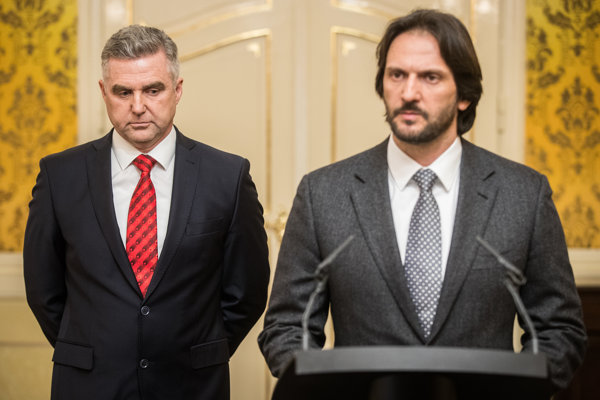 Tibor gašpar a Robert Kaliňák.