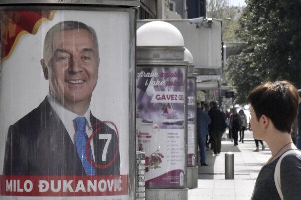 Favoritom volieb je Milo Djukanovič.