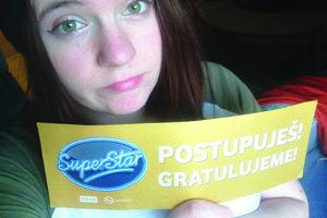 Kristína Repovská zo Sučian sa dostala v Super Star hodne ďaleko. Až pred živé prenosy.