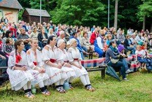 Hornonitrianske folklórne slávnosti sa tešia veľkej obľube.