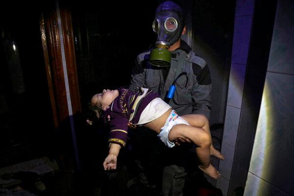 Lekári nenašli v Dúme žiadne stopy po použití jedovatého plynu.