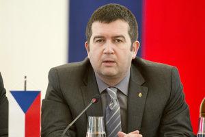 Predseda ČSSD Jan Hamáček.