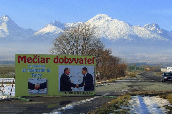 Synonymom podivných prevodov pozemkov na Slovensku sa stala kauza Veľký Slavkov.