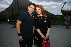 Adriána Čahojová s Martinom Valihorom.