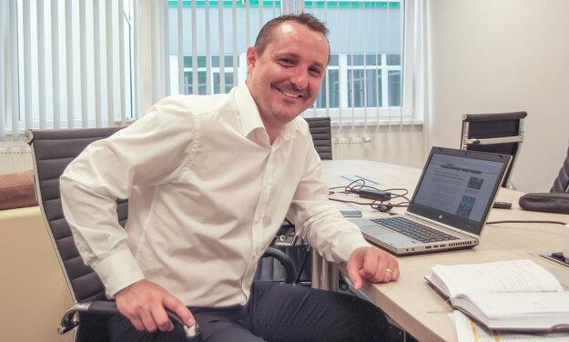 Ing. Róbert Bušfy, konateľ a majiteľ spoločnosti.