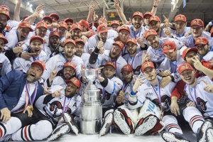 Bystričania obhájili slovenský titul.