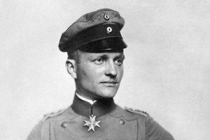 Letecké eso prvej svetovej vojny – Manfred Albrecht von Richthofen.