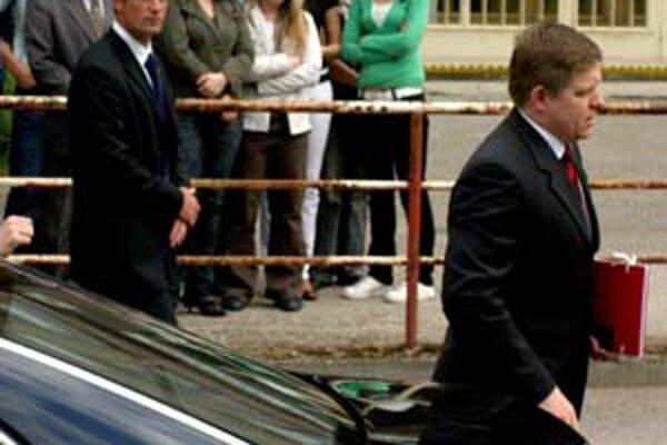 Premiér pred výjazdovým rokovaním vlády v Prievidzi.