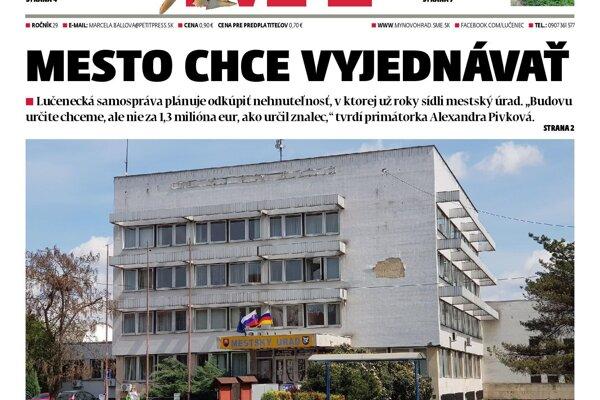 V aktuálnom vydaní MY Novohradských novín nájdete veľa zaujímavého čítania.