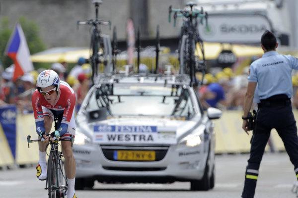 Bývalý holandský cyklista Lieuwe Westra.