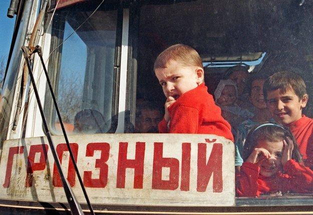 Jelena Masjuková sa v 90. rokoch venovala rusko-čečenskému konfliktu.